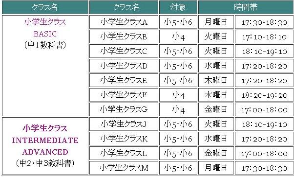 Syougakusei_timetable